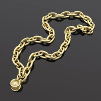 Men pendant necklace fashion jewelry gold silver chain crude chains stainless steel unisex party Chirstmas Valentine's Day clavicle Hip hop custom womens necklaces