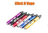 Click N Vape Srapeek Vaporizer Ручка сухого травы Vaporizer Курение металла трубы ветрозащищенные горелки Зажигалка для сухого травы и воска DWF6109