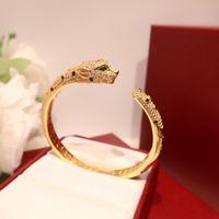 Tasarımcılar Bilezikler Lüks Takı Gül Altın Gümüş Bilezik Bilezik Çiftler Severler Sevgililer Günü Hediye Için