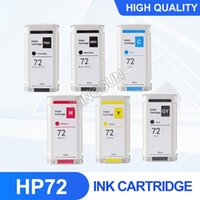 Ink Cartridges 72 Cartridge With Pigment And Chip Compatible For T610 T620 T770 T790 T1100 T1120 T1200 T1300 Printer 130ML