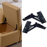 Coperchi sedia Cerniera per divano letto in acciaio 2PCS Funiture da letto regolabile hardware
