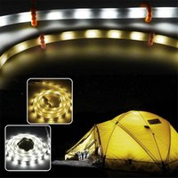 Strips Tent Waterproof Outdoor Camping LED Light Strip Warm White Lamp Portable Impermeable Flexible Neon Ribbon Lantern Lights