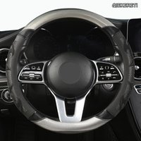 Direksiyon Simidi Kapakları Qiekereti Mikrofiber Deri Araba Kapak Hondas Civics CRV BRV Fit Caz Accords City Freed Mobilio Stream