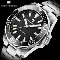 Hombres Reloj Automático Cerámica Bisel Impermeable Deporte Mecánico Reloj de pulsera de zafiro Vidrio de zafiro 304L Relojes de pulsera de acero