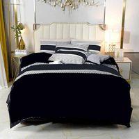 럭셔리 침구 4 조각 세트 부드러운 아기 면화 퀼트 커버 침대 시트 베갯잇 고품질 홈즈