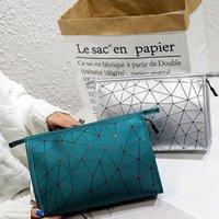 جديد الليزر المعين حقيبة التجميل حقيبة هندسية المعين حقيبة شخصية الترتر النسائية مستحضرات التجميل للماء حقائب السفر الصغيرة