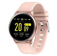 KW19 Akıllı İzle Bilezik KW19Pro Smartwatch Kan Basıncı ve Kalp Hızı Monitörü Bluetooth Müzik Fotoğraf Sedimer Hatırlatma Multy Spor Modu Erkek Saatler