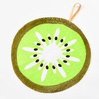 Прекрасный фруктовый принт подвесной кухонный полотенце из микрофона