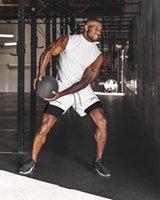 ASRV Mens Двойной палуба работает спортом Светоотражающие полосатые шорты тренажерный зал Фитнес тренировки Бермудские бодибилдинг быстрый сухой человек короткие штаны