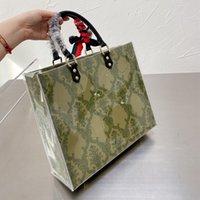 2021 Бренд дизайнерская сумка для покупок, женская мода роскоши двухмерные подарки преобразования мешки размером 33 * 28см