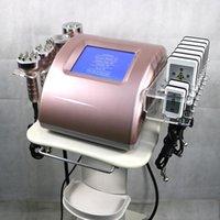 Multifunktionale 6 in 1 Ultraschallkavitation Abnehmen Radiofrequenz HF-Vakuumkörper-Cellulite-Maschine zum Verkauf