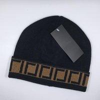 Hut Klassisches Design Wollkappe Strickbuchstabe Wollkappe Unisex Wollkappe