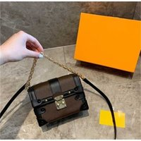 Tronco Hombro 2021 Diseñadores Bolsas de Lujos Bolsos Móviles Mochilas Llavero Cartera Flap Bolsos lindos Bolsos de Moda Bolso con bolso de caja