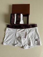 Designers Brand Hommes Boxer Hommes Sous-fonds Bref pour homme Sous-estimes Sous-vêtements Sexy Sous-vêtements Mens Boxers Coton Sous-vêtements Shorts Mâle