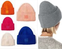 Beanie Skull Caps Cold Proof Hats Fashion Street Man Woman Warm Winter Colorful Bucket Hat 18 Color Cap Top Quality