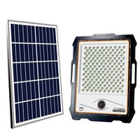 Lámparas solares de 1080p Solar WiFi Cámara de seguridad para exteriores Luz de inundación al aire libre PIR ALARMA CCTV impermeable IP66 con tarjeta SD 32G 100W 200W-300W-400W Crestech