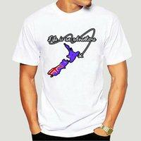 Zealander Life - это приключенческая футболка на заказ Фитнес одежда мужская футболка с юмором юмористический Anlarach Cute 8893x футболки