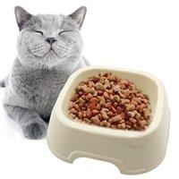 Pet Single Bowl Creativo Fashion Fashion Great Drink Dog Bevanda per cani Cats Supplies Cat Products Grows Aimensioni
