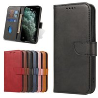 PU leather Phone Cases For Iphone 13 12 Mini 11 Pro Max XR XS X 6 7 8 Plus Compatible Samsung S21 Ultra A72 A52 A32 A12 Flip Stand Wallet Card Slots Case Back Cover