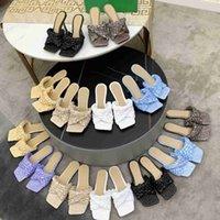 women LIDO slides slippers STRETCH sandals high heel dress shoes fashion ladies mesh square toe sandal designer woman office party shoe large size