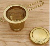 Чайные инструменты многоразовые сетки чайные чайник из нержавеющей стали фильтр свободно листьев чайник специй с крышкой чашки кухонные аксессуары 2060