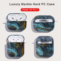 Marble Earphone Cover For Apple earbuds Airpods 2 Multi Colors Air Pods pro Protector Case