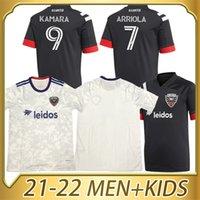 2022 17 Santos Soccer Jersey Fans Version 9 Kamara Home 31 Gessel Man + Kit Kit Kit personnalisé 2021 Chemise de football 10 Flores