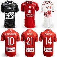 21 22 Stade Brestois 29 Soccer Jerseys LASNE DIALLO GRANDSIR CHARBONNIER FAUSSURIER 2021 2022 Brest HONORAT MOUNIE FAIVRE MAGNETTI football shirt