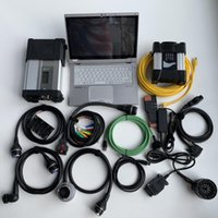 sd connect c5 icom next for bmw diagnostic scanner 2in1 ista software ssd 1tb cf-ax2 used laptop obd full set
