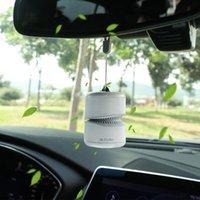 Car Air Freshener Mini Purifier Portable Auto & Home Fresh Ionic Aroma Spread Diffuser Remove Dust Smoke Vehicle Accessories