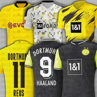 Borussia Haaland Reus Bellingham Dortmund Soccer Jerseys Sancho Hazard Men Kid Kit Brandt Football Shirt Balr Signature