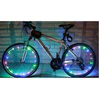 Bike Lights 20 LEDs Bicycle Cycling Spoke Wheel Rim Light String Lamp