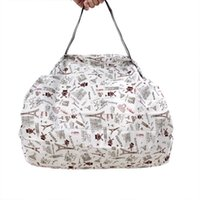 쇼핑백 Foldable Bag 친환경 Bolsa Reutilizable 여성 Torby Na Zakupy 방수 Shoping SAC 재사용 가능한 Boodschappentas