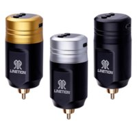 DKLAB Kablosuz Dövme Makinesi Güç Kaynağı Şarj Edilebilir Lityum Polimer 1600 mAh Pil USB Şarj 5 Seviye Ayarı