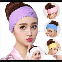 Aessories & Tools Productsspa Bath Shower Wash Face Elastic Hair Bands Fashion Head Turban Ladies Cosmetic Fabric Towel Make Up Tiara Headba