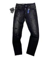 Fashion jeans Mens Designer jean Distressed Ripped Biker Slim Fit Motorcycle luxury casual Denim Hip Hop Top Quality men pants