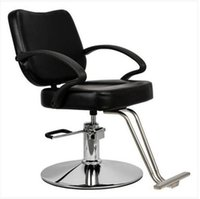 Hot Sales !!!Wholesales Free Ship Woman Barber Chair Hairdressing Chair Black