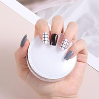 False Nails 24pcs box Detachable Round Head Wearable Square Fake Full Cover Nail Tips Accessories Manicure Tool