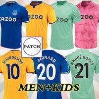 2020 20220 2021 toffees   everton كرة القدم جديد الفانيلة # 19 جيمس الرجال أطقم أطفال مجموعات قميص كرة القدم # 7 ريتشارلي كين ديفيز زي 1987 88 94 95 الرجعية