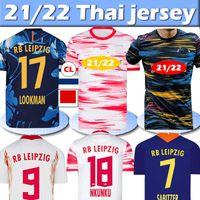 RB Leipzig soccer jersey RBL Soccer Jerseys Poulsen Forsberg 2020 2021 Bundesliga Sabitzer Adams Olmo Homens Kits Kits Camisetas de Fútbol Camisa de Futebol Calças Treinamento