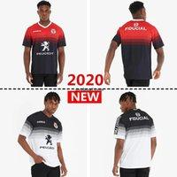 Stade Touousain 2019-2020 2021 Mode Super Rugby Jersey Le Stade Shirt Toulouse MAILLOT CAMISETA MAGIA TOPS S-3XL Trikot Camisas Kit