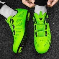 Profesyonel Sneaker Erkekler Yol Bisikleti Bisiklet Ayakkabı Kadın Dağ Yarışı Nefes Cleatself-Lockt Açık Sneakers Ayakkabı