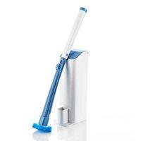 SDARISB Jeu de toilette jetable de toilette nettoyage brosse de toilette avec système de nettoyage pour salle de bain toilette et cuisine propre 210831