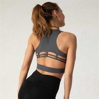 Yoga Outfits Sport BH Cross Back Sport BH für Frauen Fitnessstudio Naked Feel Yoga BHs Plus Size Strappy Workout BHS Größe S bis XL