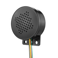 警報セキュリティ12-24V車のスタート音声カスタム4チャンネルトリガースピーカープロンプルサウンドリバースサイレンブザーホーンビープトラックCA
