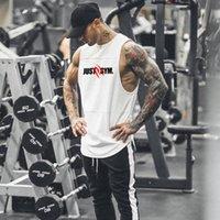 Nova Moda Malha Sem Mangas Shirts Bodybuilding Tanque Homens Fitness Camisa Mens Singlet Singlet Gym Gym Vest Fitness Homens 210421