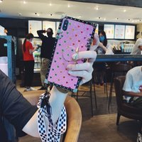 For iPhone 11 12 Pro Max XS XR X 7 8 Plus Luxury Designer Women Defender Phone Case Glitter Love Fashion Diamond Case