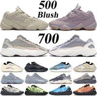 Med låda toppkvalitet 700 og löparskor azarath cream ljusblå statisk verktyg svart 500 rodda ben vit mjuka vision män kvinnor reflekterande sneakers tränare