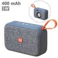 Mini Hoparlörler Küçük 5 W Taşınabilir Hoparlör TG506 FM Radyo Bluetooth 400 MAH AUX / USB / TF Kart için HD Stereo Kablosuz Hoparlör