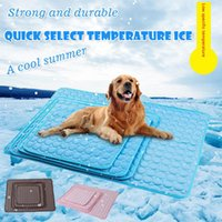 Kennels & Pens Self Cooling Dog Mat, Large Pet Cool Mat Non-Toxic Activated Gel Pad Ice Great For Dogs Cats To Stay This